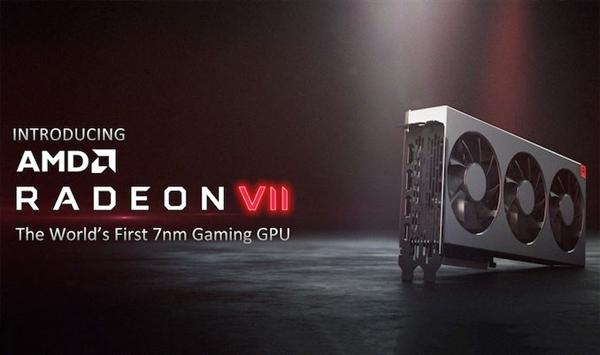 AMD旗下Radeon VII现身CES 2019上:基于7nm工艺