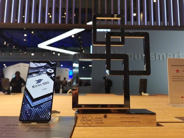 MWC 2019最佳智能手机公布:华为Mate 20 Pro首次夺冠