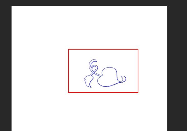 ps制作出蓝色线条效果花纹图形的具体操作