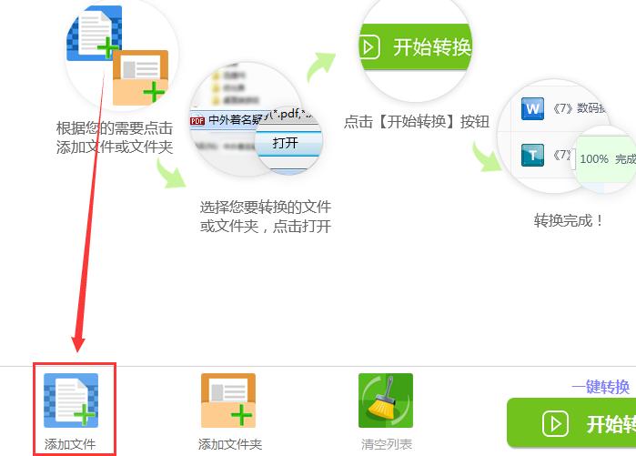 迅捷PDF转换器分割PDF文档页面的操作流程