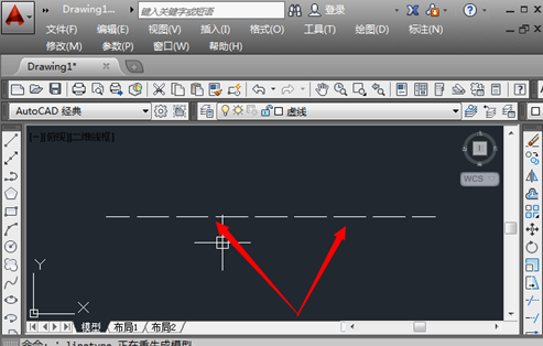 cad操作虚线的详细绘制教程cad2010文字版过程图片