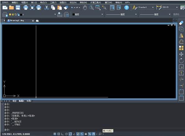 CAD出图布局视口最大化的操作空间cad墙过程涂黑吗要图片