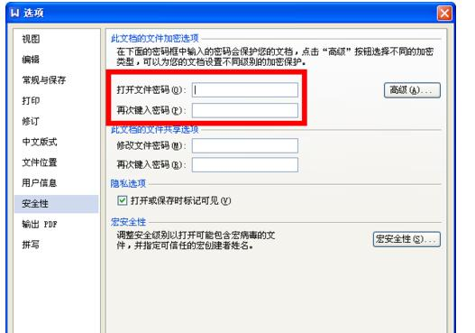 wps设置密码保护的操作流程截图