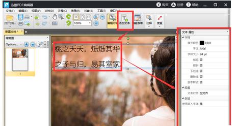 bb插入的直喷水_迅捷pdf编辑器新建pdf文件插入图片和添加文字的操作流程