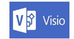 Microsoft Office Visio绘制万里长城城墙的操作教程