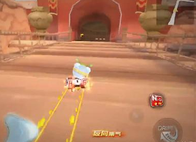 跑跑卡丁车手游日光城跑法的详细说明
