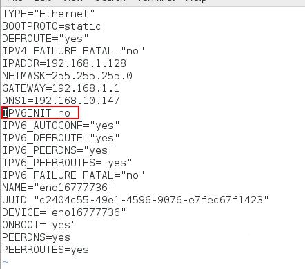 CentOS7关闭ipv6仅使用ipv4的具体使用方法