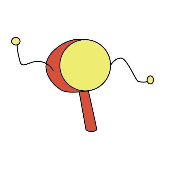 ai绘制儿童玩具拨浪鼓的操作方法