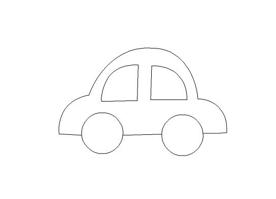 Flash绘制小汽车的操作方法