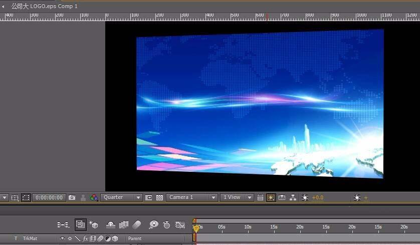 AE新建摄像机的操作方法截图