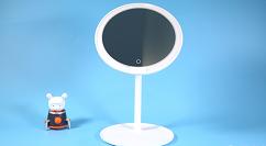 米家LED化妝鏡開售:支持三擋亮度調節+6.5寸高清鏡面
