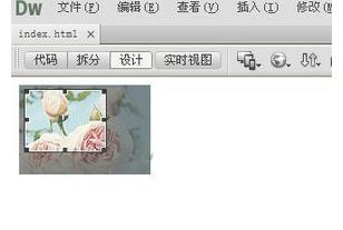 Dreamweaver进行图片编辑的操作步骤