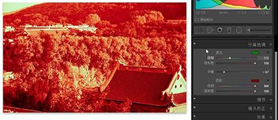 Lightroom制造分离色调打旧照片的操作方法