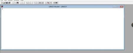 lingo优化解线性方程组的详细使用方法