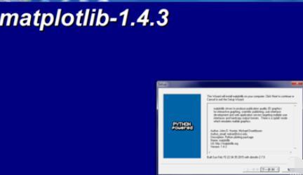 Python 2.7安装matplotlib的操作方法