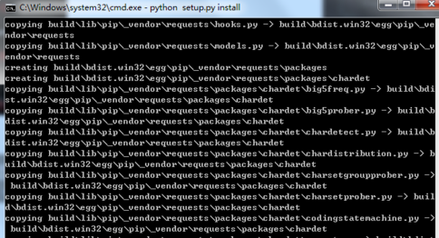 Python安装Scrapy框架的具体操作方法