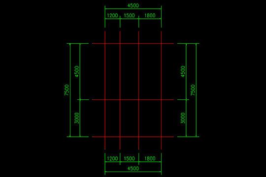 CAD迷你家装快速绘制轴线的操作教程