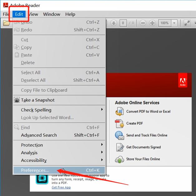 Adobe pdf阅读器(Adobe reader xi)设置中文的方法教程
