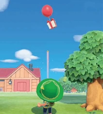 动物之森气球礼物获取方法