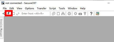 SecureCRT连接虚拟机操作方法截图