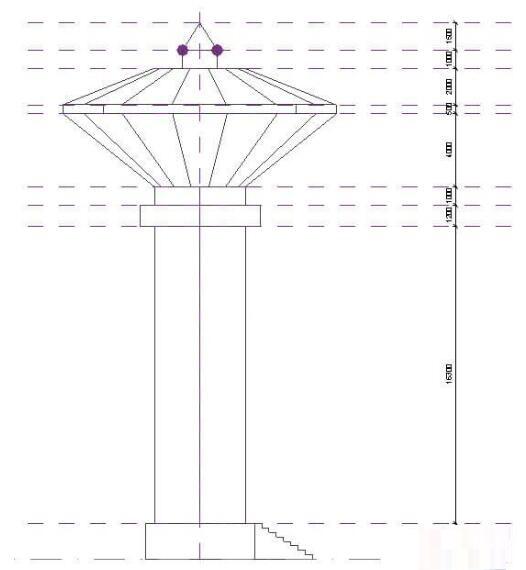 使用Revit体量绘制水塔的详细步骤
