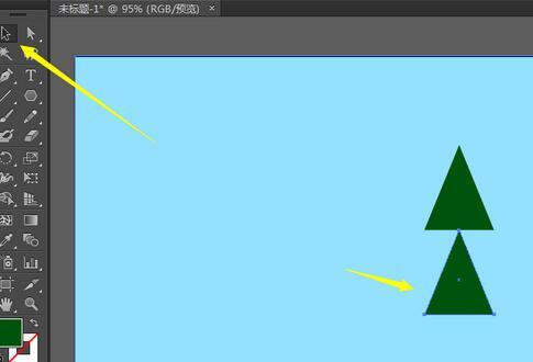 adobe illustrator cs6制作卡通效果绿色树的操作内容讲解