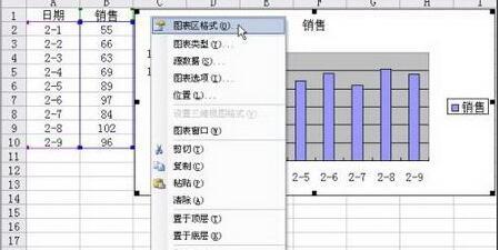 Excel中只打印图表以外区域的操作方法截图