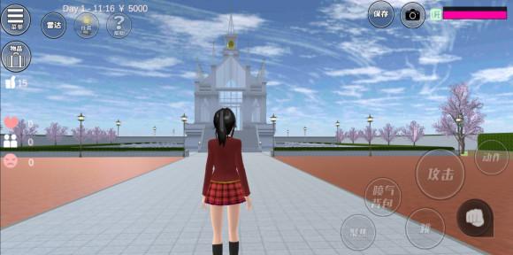 樱花校园宫殿地点与洛丽塔礼服新增截图