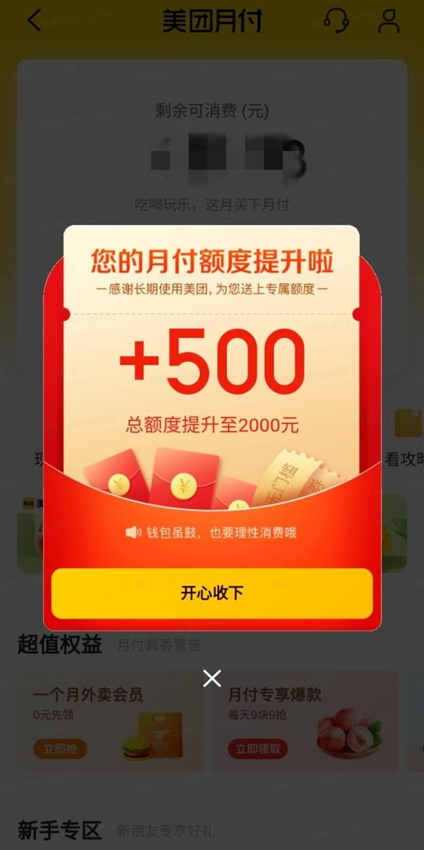 """美团第一次大规模""""送钱"""":每人几百至一两千元不等"""
