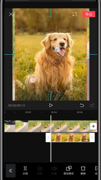剪映中在视频里添加照片的详细方法截图