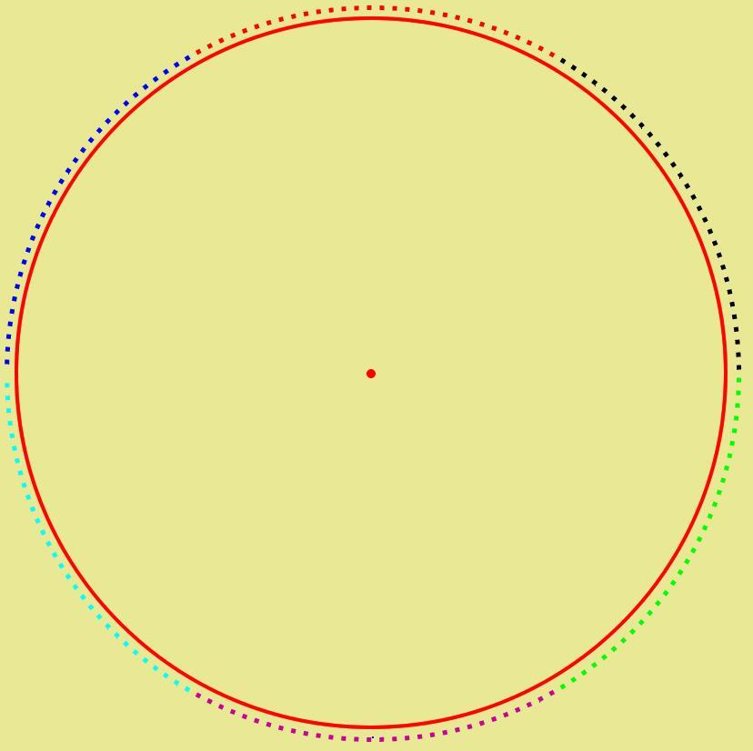 fireworks8平分一个圆形的操作方法