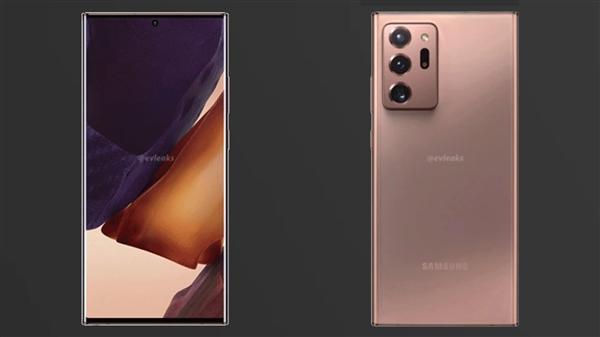 三星超大杯Note20 Ultra 360度动图曝光:曲面屏、配潜望式变焦镜头