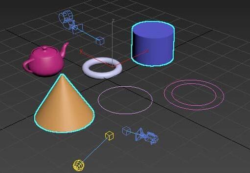 3Ds MAX多个物体进行累加选择的操作教程