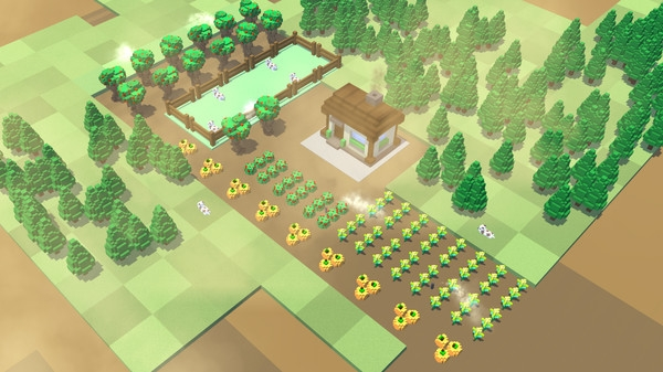 Steam上架摸鱼神器《桌面农场》 能种菜的动态壁纸