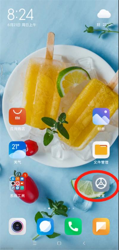 小米10青春版中设置显示网速的步骤教程截图