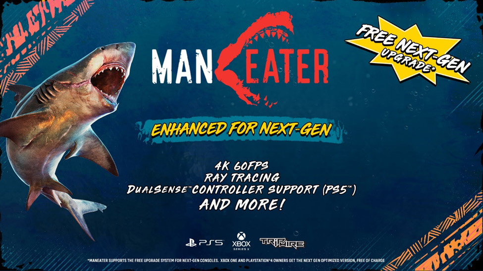 《食人鲨》为次世代主机护航 PC版画质升级