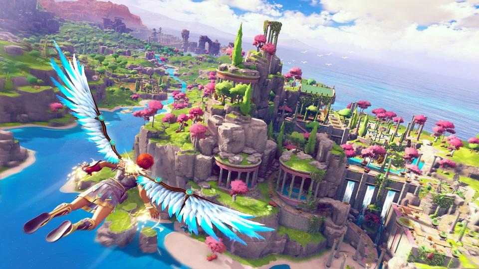 育碧重新带来《渡神纪:芬尼斯崛起》 画面风格更改截图