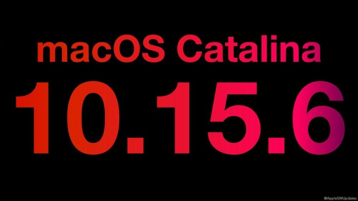 苹果带来macOS 10.15.6补充更新