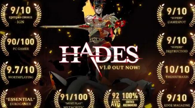 《哈迪斯》销量达100万以上 或会移植到其他平台