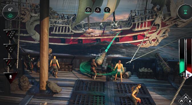 《海盗指挥官》现身Steam平台 一款求生沙盒游戏截图