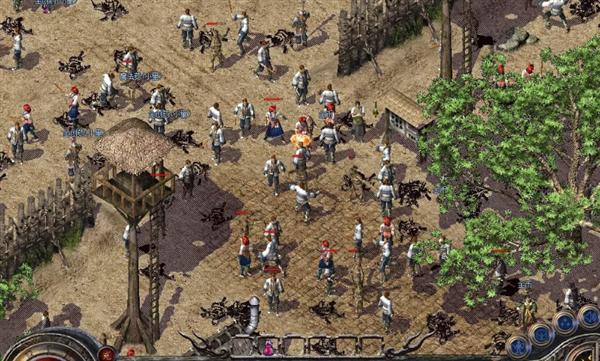 腾讯《热血传奇怀旧版》正式上线 wegame百万玩家见证经典截图