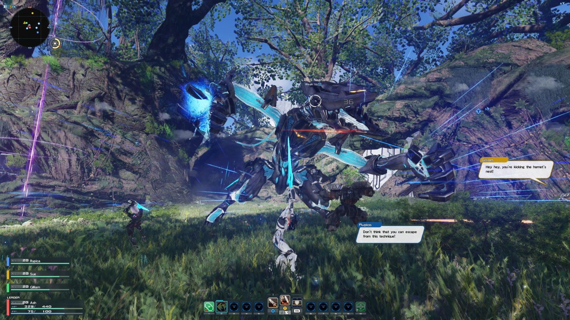 《梦幻之星online2:新世界》将在MMO里添加一个开放世界环境截图