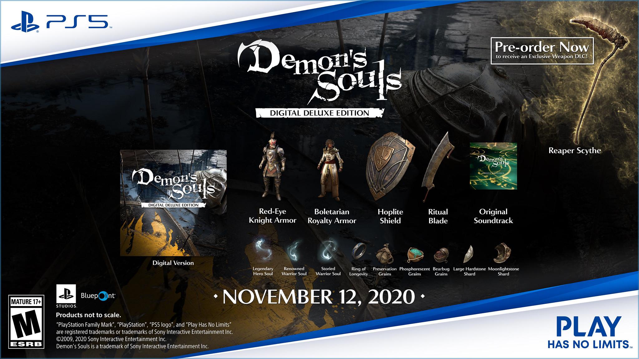《恶魔之魂:重制版》新截图公开 数字豪华版可以开启预购了