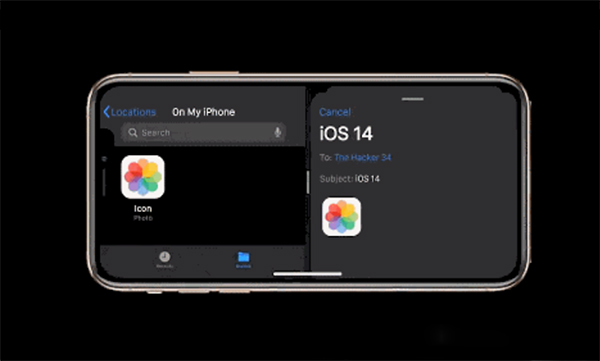 ios14怎么分屏用两个程序?iOS14分屏教程截图