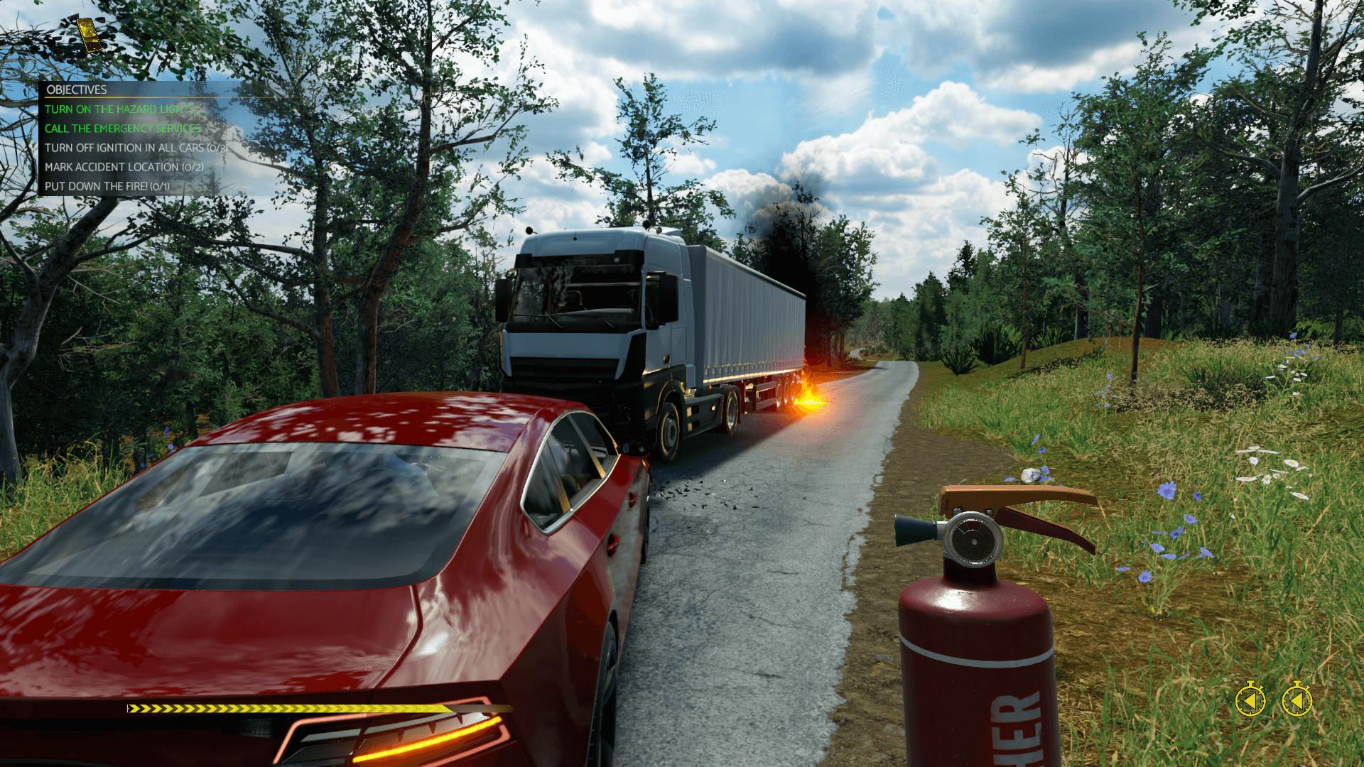 新作《车祸现场模拟器》将在10月16日发售:期待!截图