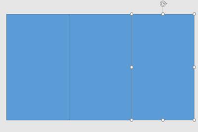 PPT怎样制作三屏效果-使用PPT给图片做出三屏效果的方法截图