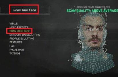 nba2k21如何扫描面部 nba2k20扫脸教程攻略截图