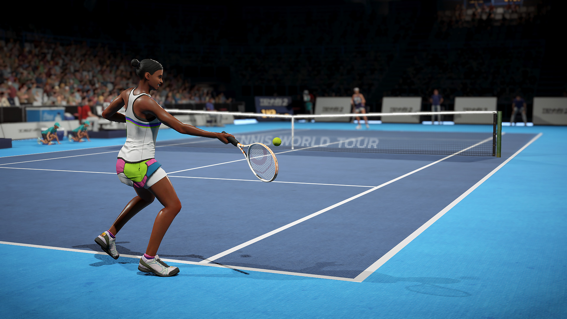 《网球世界巡回赛2》上市 扮演世界顶尖球员