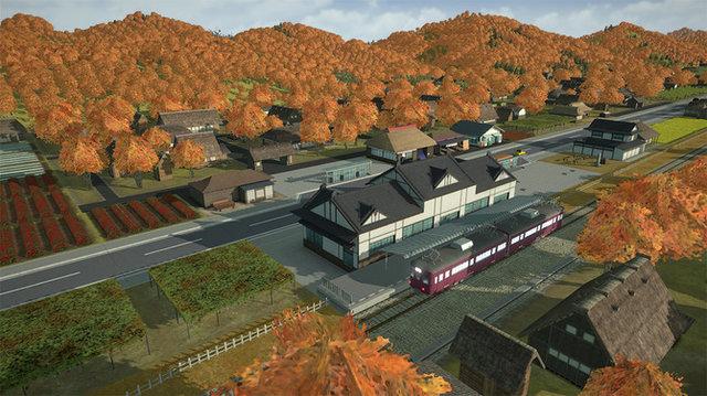 "《A列车 开始观光计划》2021年发售 引加入""观光地开发""要素截图"