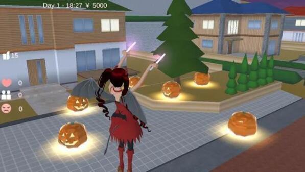 樱花校园模拟器万圣节活动一览 樱花校园模拟器万圣节更新爆料